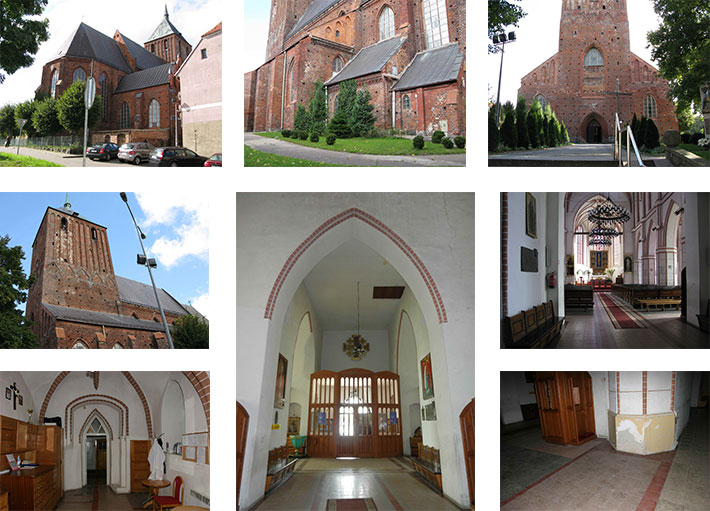 Skomplikowana architektura kościoła w Sławnie to spore utrudnienie dla wykonującego dokumentację budowlaną