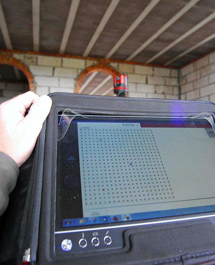 Sterowanie 3D Disto za pomocą tabletu