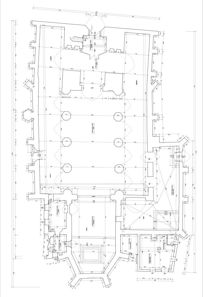 Plan kościoła w Sławnie gotowy do wydruku