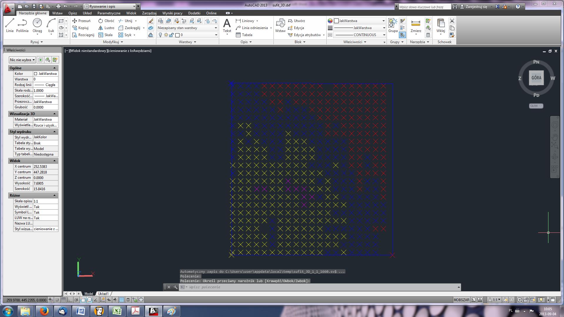 Plik DXF ze skanowania 3D Disto