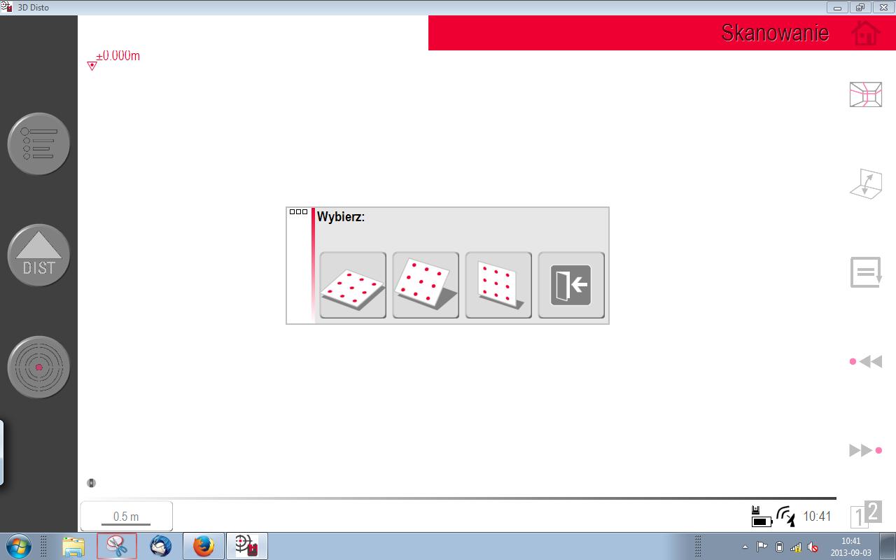 Skanowanie 3D Disto