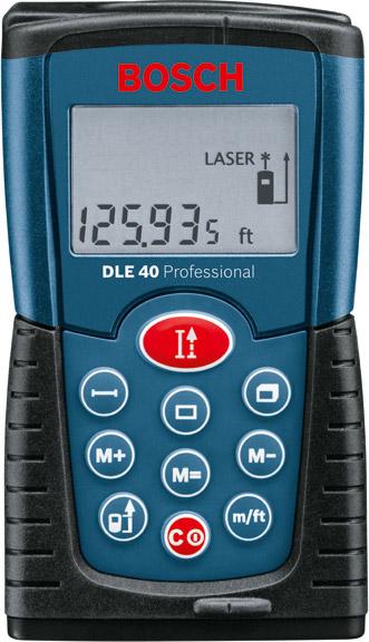 Dalmierz laserowy Bosch DLE 40