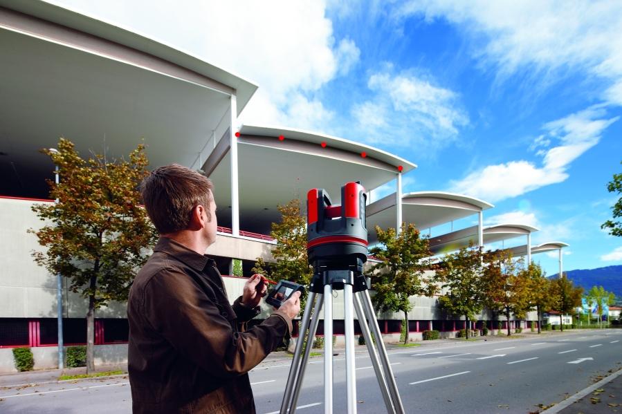 3D Disto to najnowocześniejszy, najwygodniejszy i najszybszy instrument do wyznaczania kształtów dowolnych obiektów budowlanych