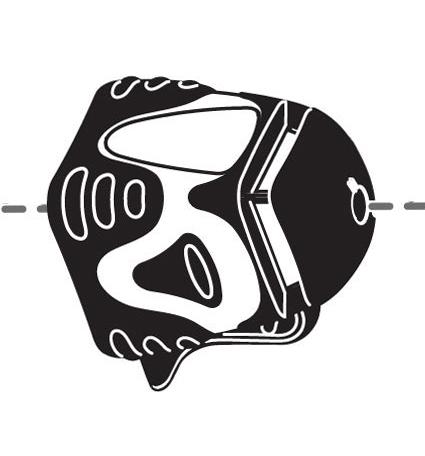 Laser obrotowy - tryb pionownika