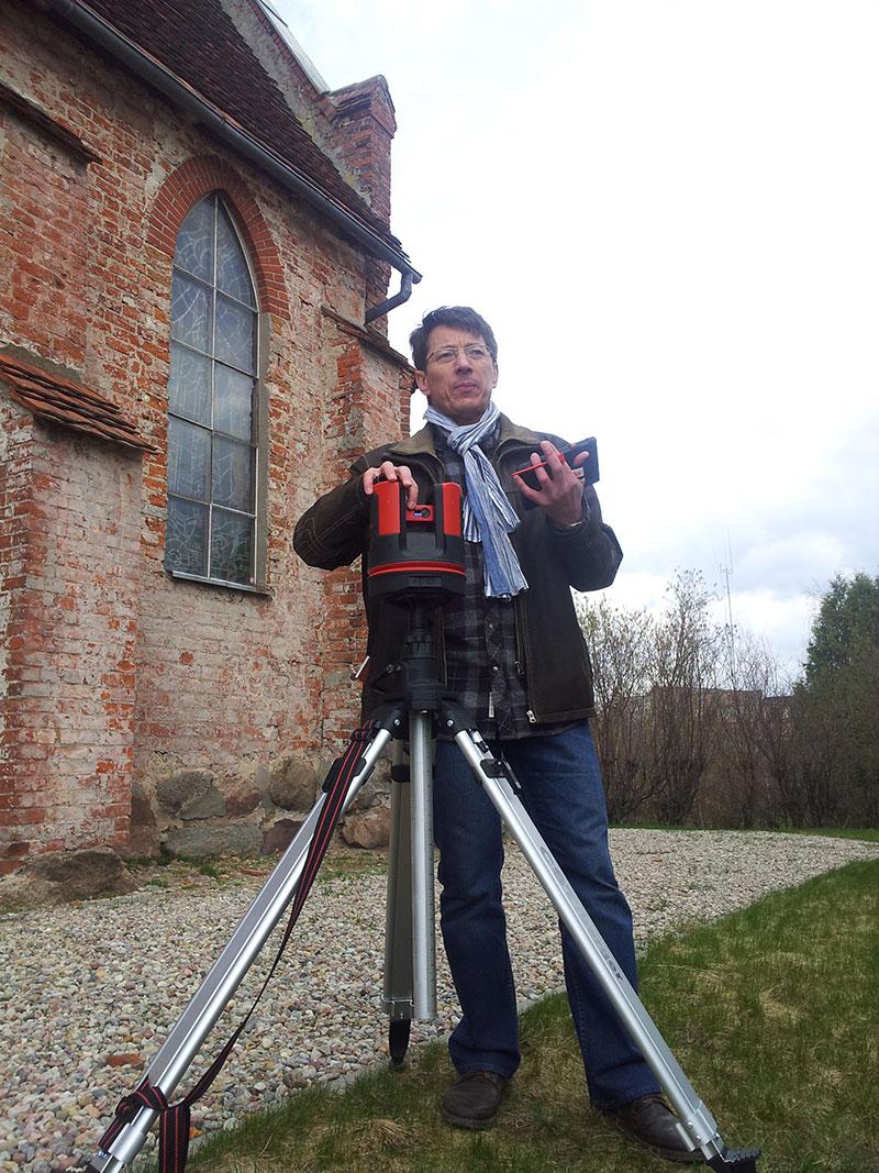 Jednoosobowa obsługa Leica 3D Disto