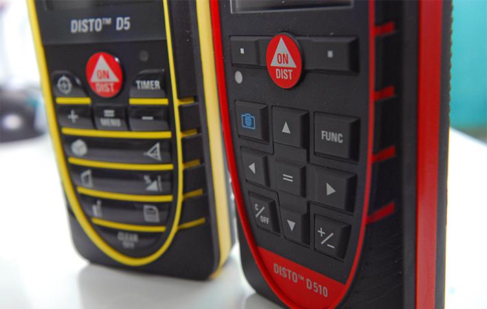 Dalmierze laserowe Leica Disto D5 i Leica Disto D510