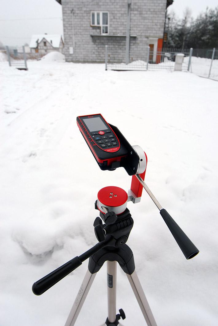 Adapter kątowy Leica TA 360 do dokładnych pomiarów na duże odległości
