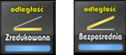 Automatyczna redukcja odległości skośnych do poziomu z panelu emulatora