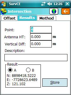 Tryby pomiarów offsetowych RTK