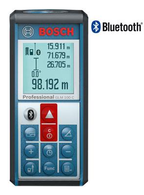 Dalmierz laserowy Bosch GLM 100 C
