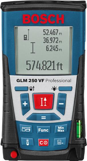 Dalmierz laserowy Bosch GLM 250 VF