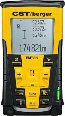 Dalmierz laserowy CST/berger RF 25