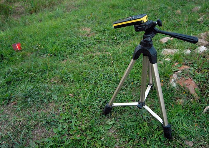 Leica Disto D8 z wbudowanym czujnikiem pochylenia