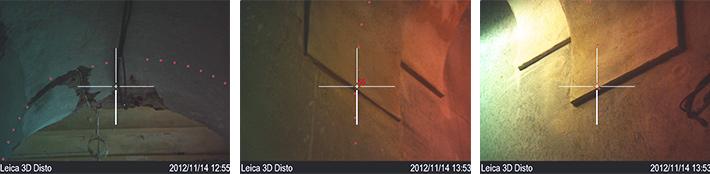 Leica Disto 3D i widok z kamery