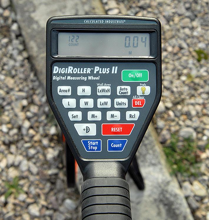 Drogomierz elektroniczny DigiRoller Plus II