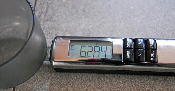 Ważenie wagą elektroniczną