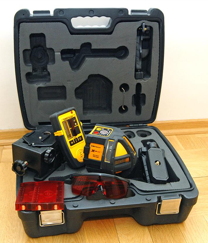 Poziomnica laserowa CST/berger XLP34 z elektronicznym kompensatorem