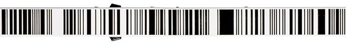 Łata kodowa do niwelatorów elektronicznych