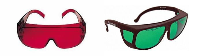 Okulary laserowe do laserów budowlanych