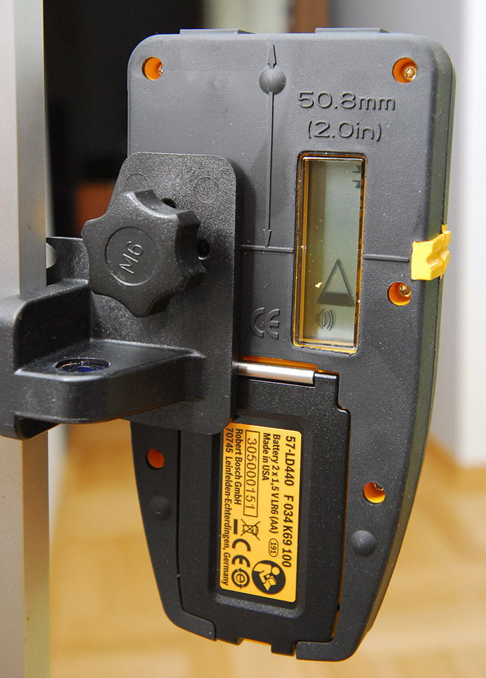 Odbiornik do niwelatorów laserowych CST/berger