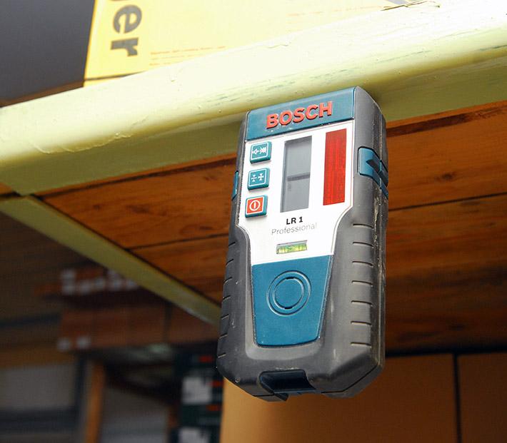 Czujnik laserowy Bosch