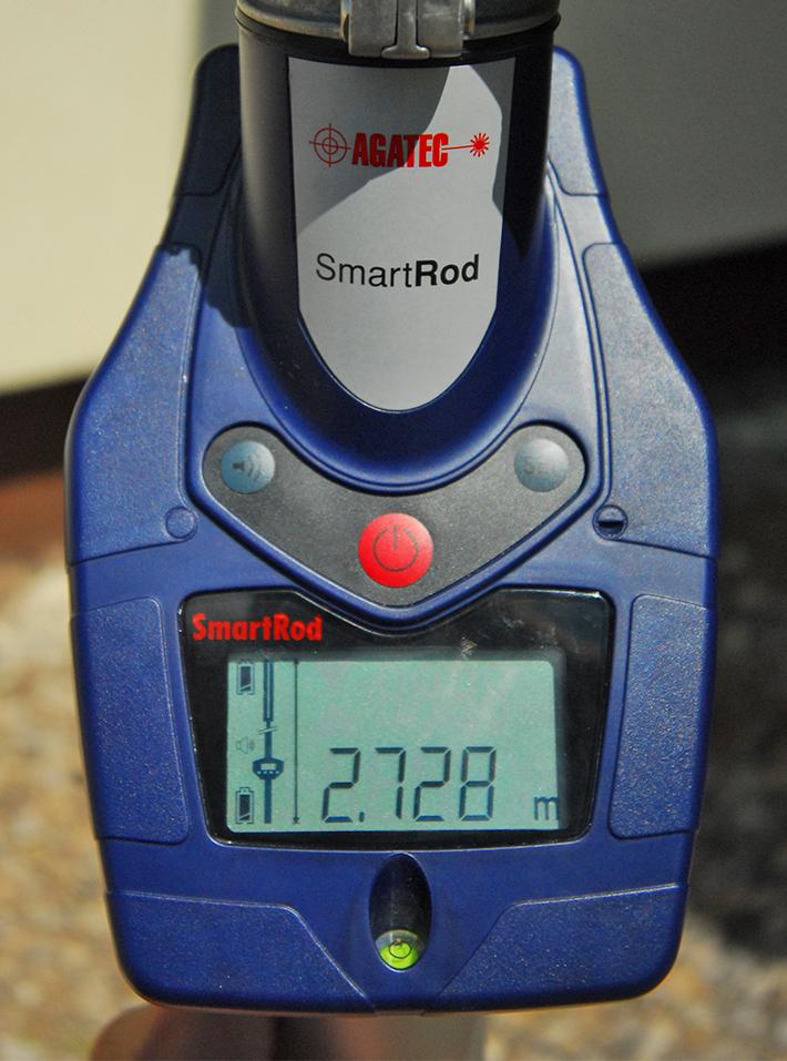 Elektroniczna łata laserowa SmartRod