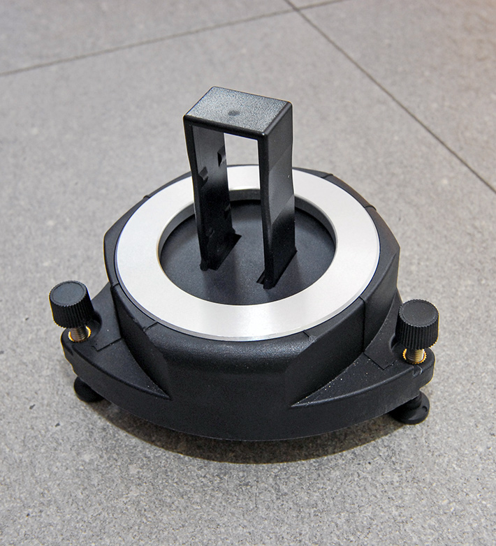 Poziomnica z modułem laserowym
